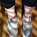 Simple Garter Stitch Slippers