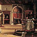 La chambre d'un humaniste vénitien