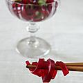 Muk d'hibiscus : dessert gelée de mungo