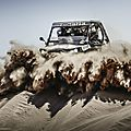 1ère photo de la course... quand on vous dit qu'on surfe sur les dunes... il y a même l'écume ;-)