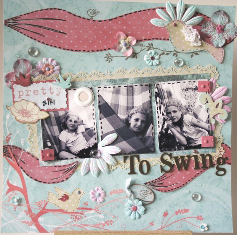 Pretty girl to Swing