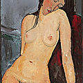 Amedeo modigliani masterwork unveiled at the ulster museum in belfast