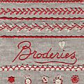 Stage de broderie traditionnelle