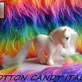 (000) My little pony collector pose. Cotton Candy & varientes