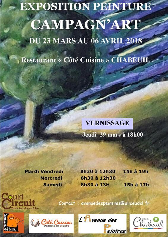affiche expo arrosoir COTE CUISINE JPG 2