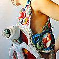 Mona luison: artiste textile