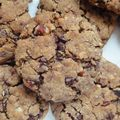 Cookies chocolat et noisettes