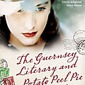 The guernsey literary and potato peel pie society - mary ann shaffer & annie barrows