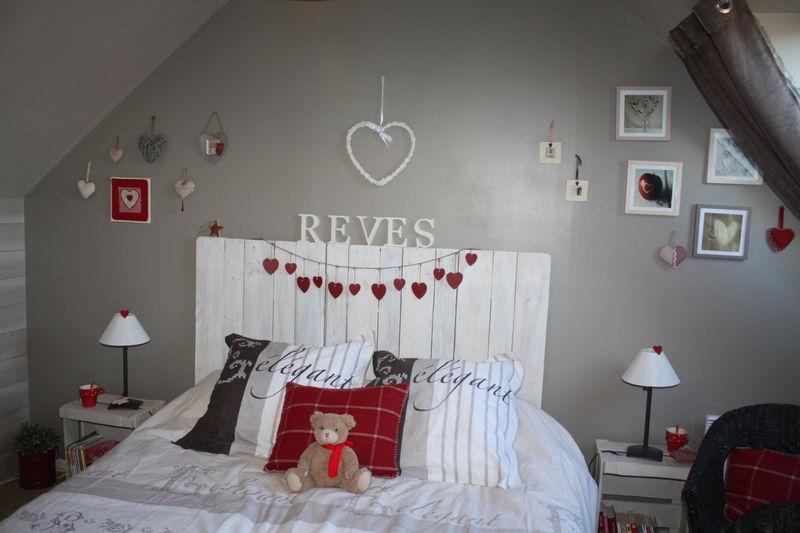 t te de lit r alis e partir de palettes photo de mes bricoles je change de d co. Black Bedroom Furniture Sets. Home Design Ideas