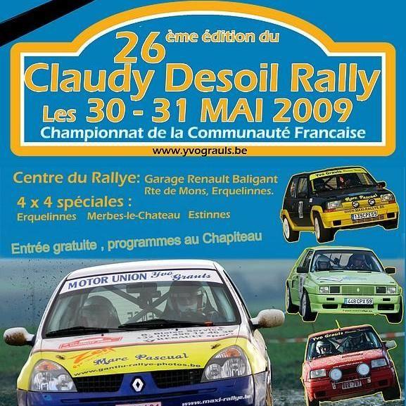 Claudy Desoil Rally 2009 2