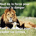 Force et courage