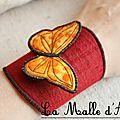 Manchon papillon 01