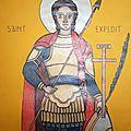 Saint Expédit (détail)