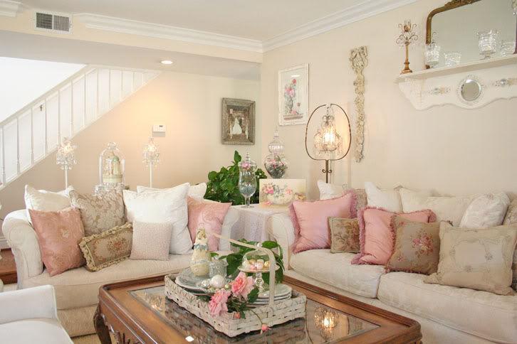 d co de p ques shabby romantic. Black Bedroom Furniture Sets. Home Design Ideas