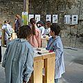 Ateliers de sculpture sur pierre