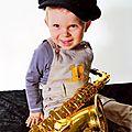 Yoann aurait-il déjà une âme de musicien ?