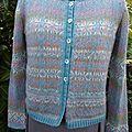 Caroly burda tricot n°18