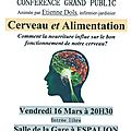 Conférence cerveau et alimentation