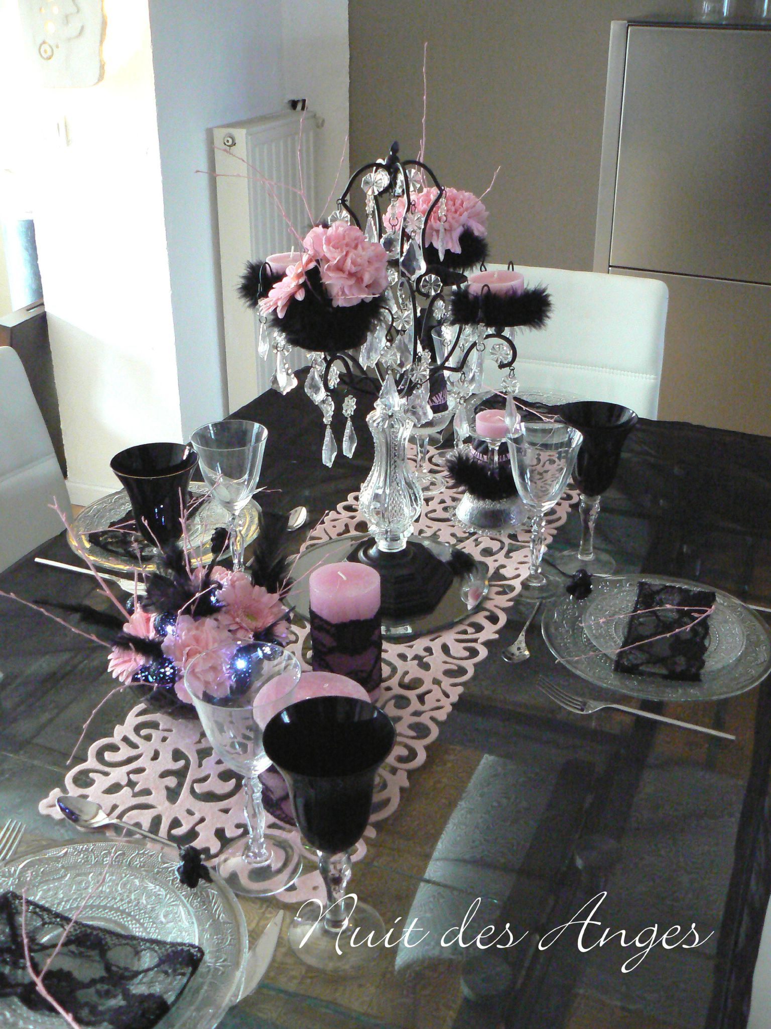 Decoration De Table Bapteme Fille Chic