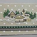 Atc - le village sous la neige