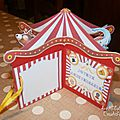 Carte cirque - ouverte