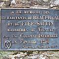 1794, les massacres du vigneau à beaupréau