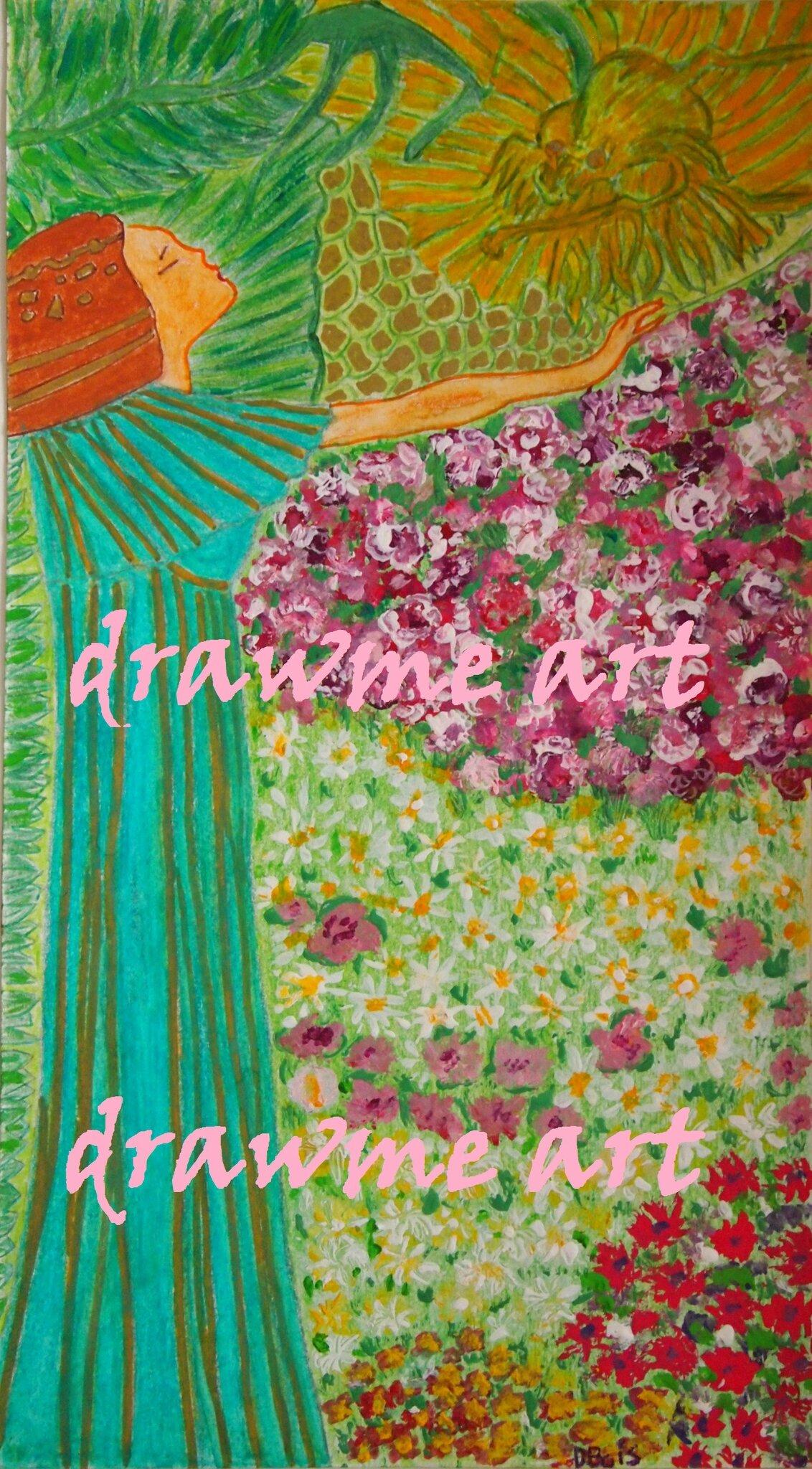 À la manière de Gustave Klimt