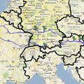 Sur la route de la mittel-europa (allemagne, autriche, slovaquie, hongrie)