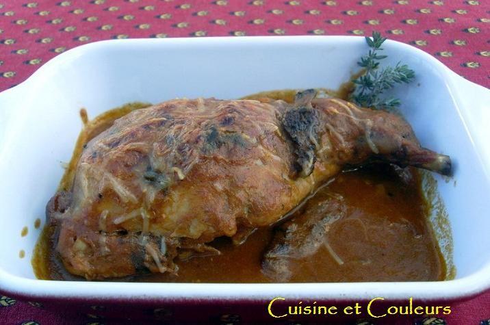 Lapin en sauce viognier aux morilles picodon cuisine - Cuisiner le lapin en sauce ...