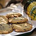 Alomo bitters and chocolate chips
