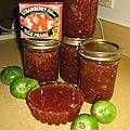 Confiture aux tomates vertes