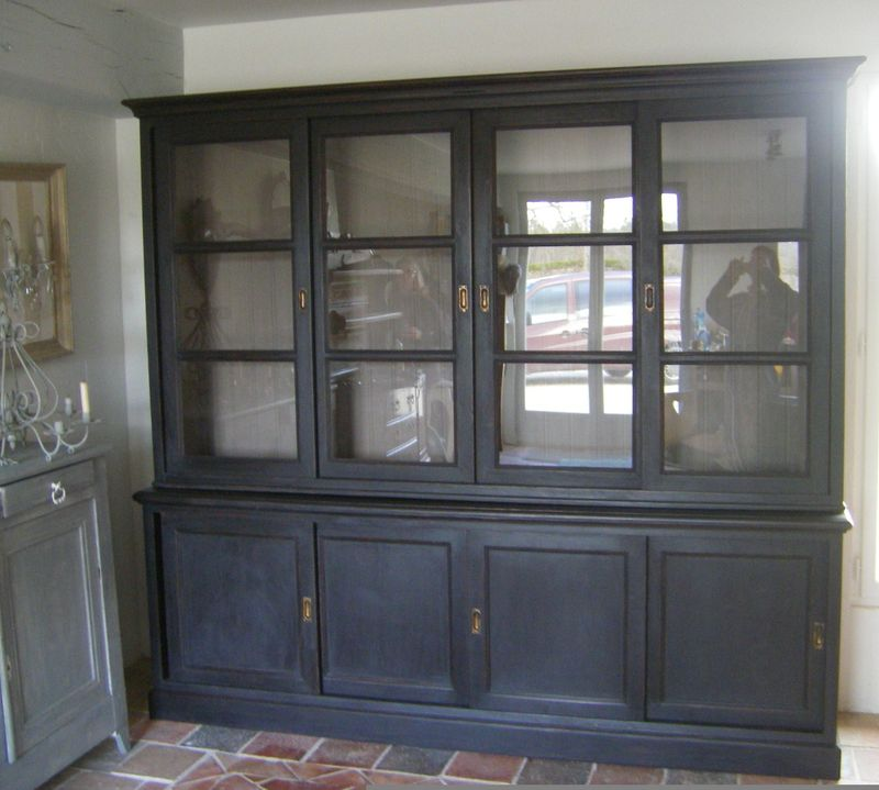 biblioth que patines et cie relooking de meubles. Black Bedroom Furniture Sets. Home Design Ideas