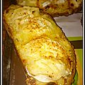 Tartine aux fromages