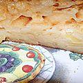Gâteau invisible au caramel de pommes