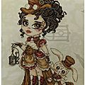 2017-BHS-01 Annabel Lee la Miss Steampunk