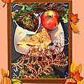 🍎🍂🍯 bonjour c'est mercredi : mon gâteau d'automne 🍂