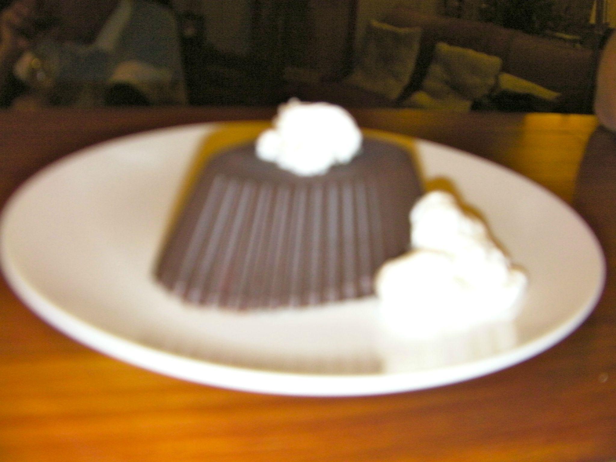 glace vanille en coque de chocolat