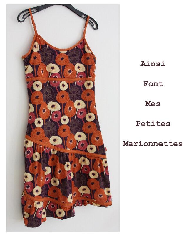 robe fleurie 1