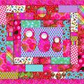 Un patchwork quilté pour les paresseux