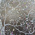 Rêve en partage Communal dream, Marion Alexandre 120 cm x 60 cm x 4 cm technique mixte
