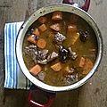 Recette de famille le boeuf aux carottes et pruneaux