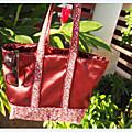 Le sac cabas fleuri et sa surprise assortie ! - pour annabelle