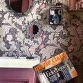 Papier peint william morris.marie claire maison.