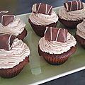 Cupcake au kinder bueno