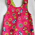 Les petites robes de printemps (3-6 mois)