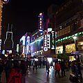 Shanghai - Nankin Lu by night