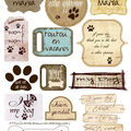 étiquettes dog copie