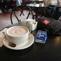 Hot chocolate à Beacon Hill (mmmhhhhh)