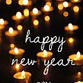 Bonne année - happy new year !