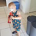 Apprentissage de la propreté et tenues estivales